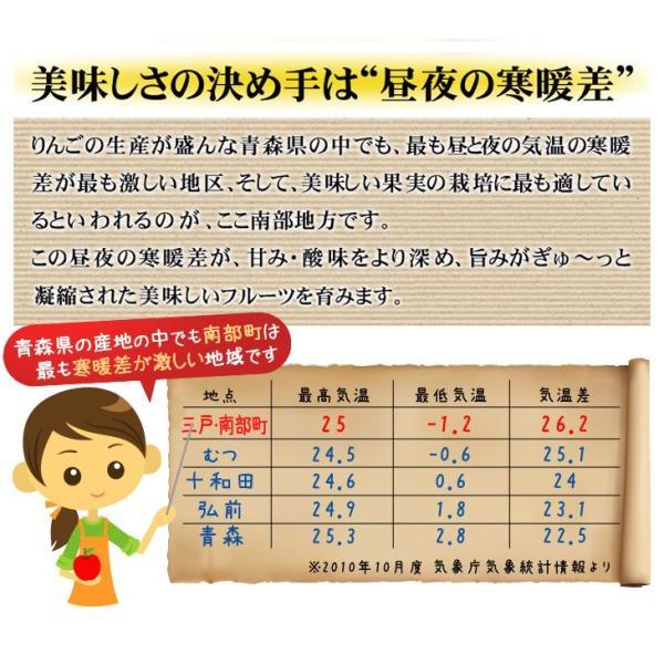 梨 青森南部町産 ご家庭用 八雲梨 4kg 1箱 送料無料 やくも梨|seikaokoku|06