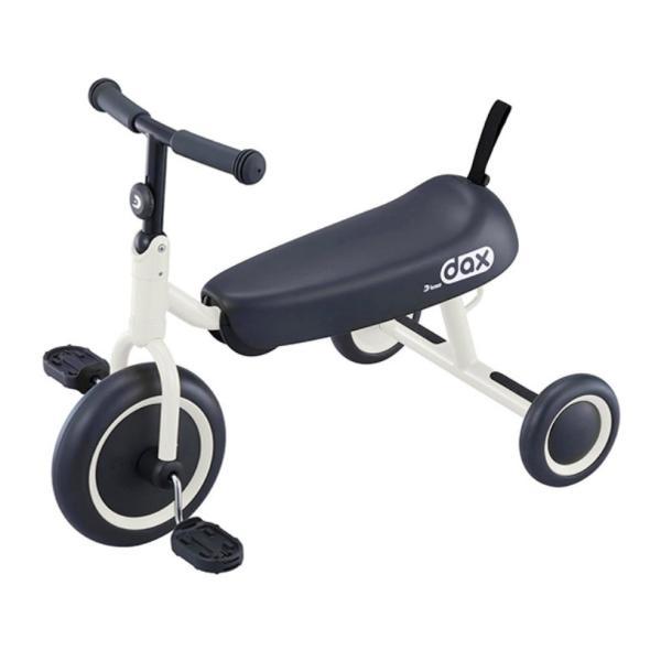 《成長に合わせて自由に座れるロングシート採用》ides D-bike dax ホワイト