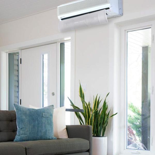 エアコンルーバープロ|ウイング かぜよけ 風向き 冷房対策 クーラー エアーウィング オフィース 暖房対策 冷暖房 乾燥 風向き 貼るだけ 両面テープ