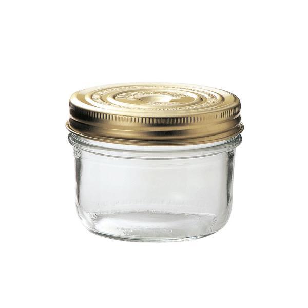 ル・パルフェダブルキャップキーパー 350ml   ジャム瓶 ふた付 ガラス瓶 保存瓶 はちみつ容器 ジャー容器 かわいい 可愛い おしゃれ オシャレ