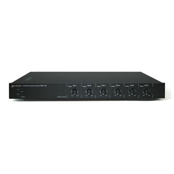 ユニペックス 6チャンネル 赤外線ワイヤレスレシーバー IRR-106