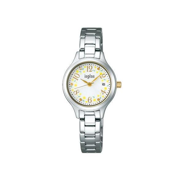 SEIKO ALBA ingenu セイコー アルバ アンジェーヌ ミモザの日 限定 クオーツ 腕時計 レディース AHJT704