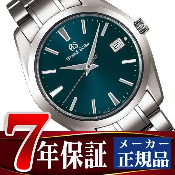 info for ce1f9 8f1de GRAND SEIKO グランドセイコー 9F クオーツ メンズ 腕時計 チタン グリーン SBGV233