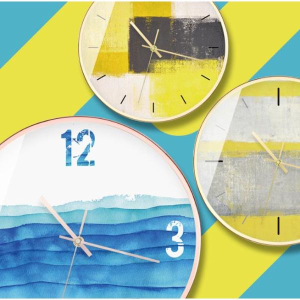 壁掛け時計 掛け時計 かけ時計 おしゃれ 壁飾り 北欧 おしゃれ ウォールクロック プレゼント ギフト |北欧芸術風|a231