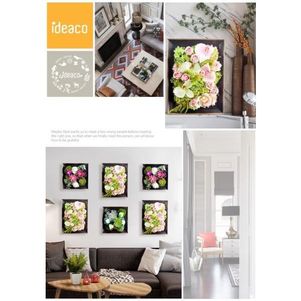 壁飾り 観葉植物 お花壁飾り 壁掛けインテリア ウォールディスプレイ フェイクグリーン 光触媒 壁面飾り オーナメントパネル  hn2|seisin39|03
