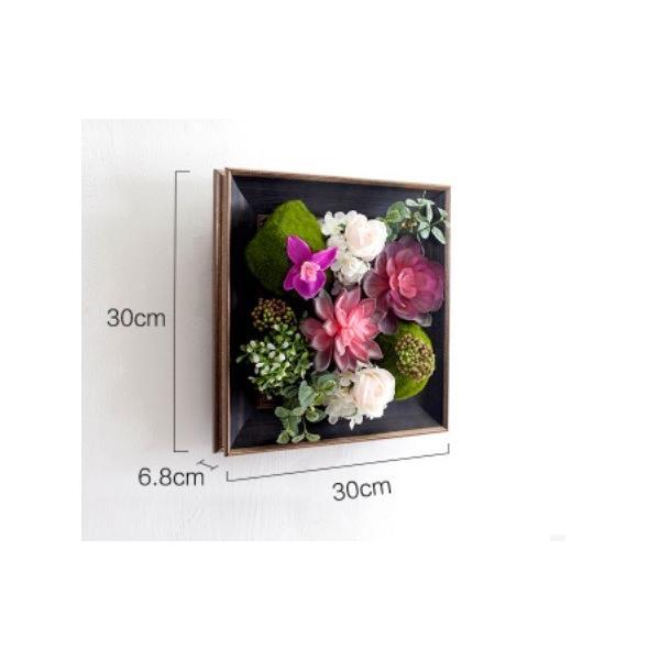 壁飾り 観葉植物 お花壁飾り 壁掛けインテリア ウォールディスプレイ フェイクグリーン 光触媒 壁面飾り オーナメントパネル  hn2|seisin39|04