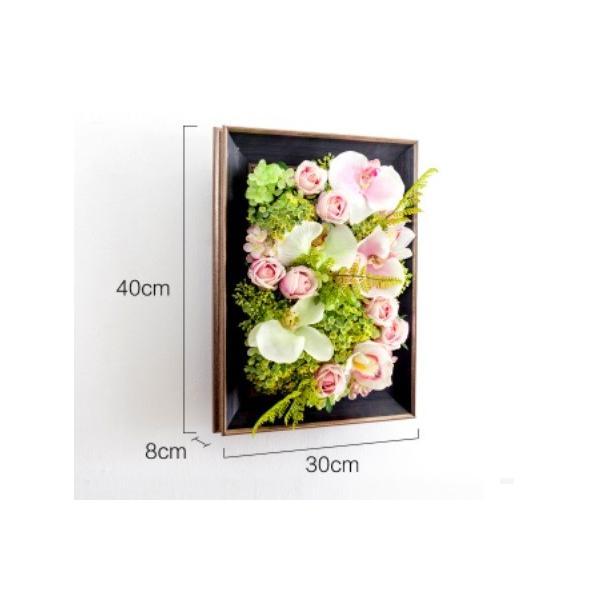 壁飾り 観葉植物 お花壁飾り 壁掛けインテリア ウォールディスプレイ フェイクグリーン 光触媒 壁面飾り オーナメントパネル  hn2|seisin39|05