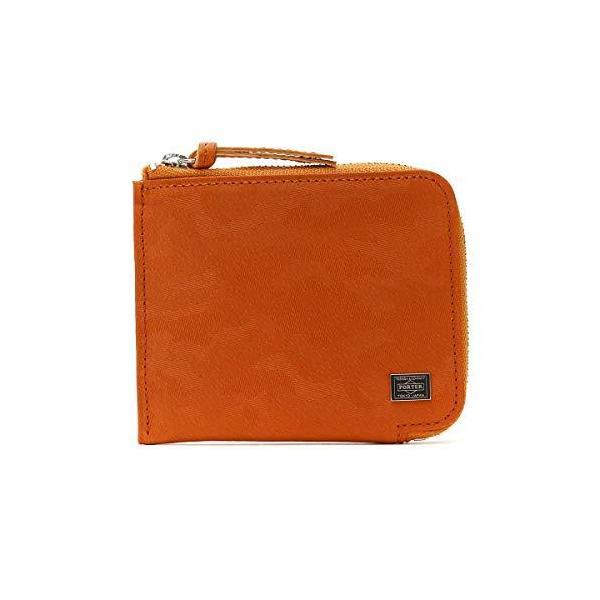(ポーター)PORTERL字ファスナー財布 WONDER/ワンダー 342-060342.オレンジ