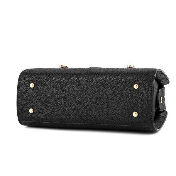レディース鞄 ハンドバッグ かばん OL PUレザー、通勤/通学にもオススメ☆カバン トートバッグ 人気 韓国風 斜め掛け シンプル