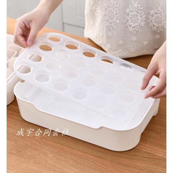 卵ケース 冷蔵庫用 卵収納ボックス 冷蔵庫卵用タッパー 保存容器 野菜保存 卵容器 卵保存容器 タッパー 卵トレー 卵用 持ち運び 持ち運び キッチン 台所収納|seiu|07