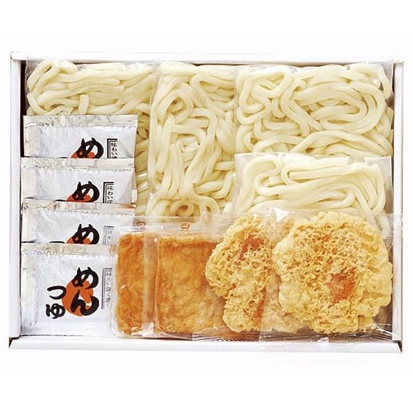 産地直送 讃岐うどんきつね天ぷら4食セット