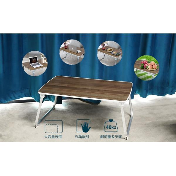 Salcar 折れ脚 ちゃぶ台 折り畳みテーブル 70 * 50 * 32.5 座卓 軽量 コンパクト キャンプテーブル|sekey-online|07