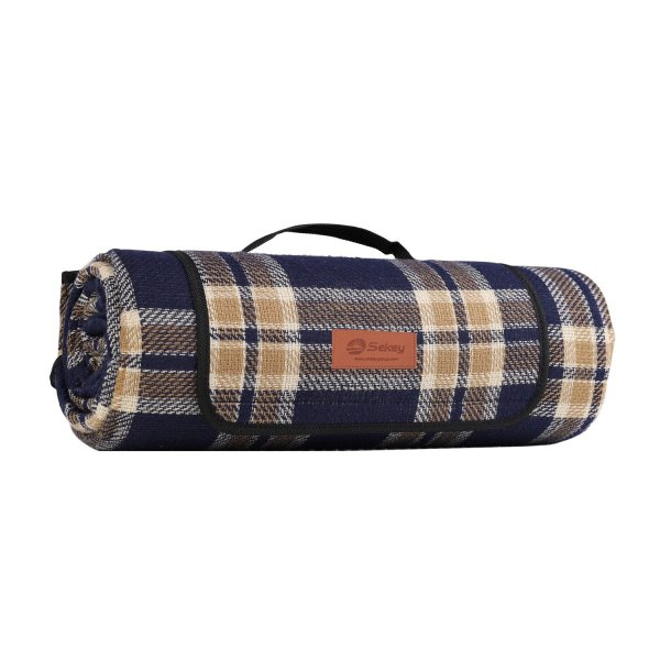 Sekey レジャーシート 200*170cm アウトド 3層構造 4-6人用 軽い 厚手 柔らかい 裏地撥水 収納便利 持ち運びやすい 折り畳み 耐久性 円筒形 sekey-online