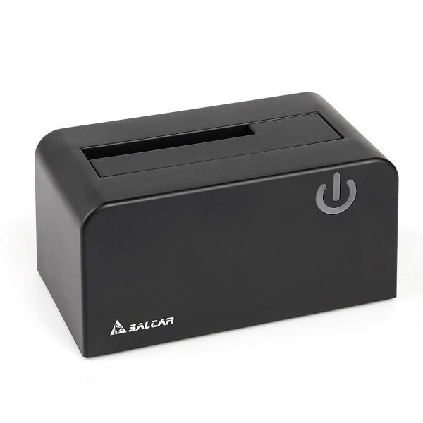 Salcar USB3.0 2.5/3.5型 SATA HDD/SDDスタンド 8TB UASP対応 ドライブケース ハードディスクケース 1年保証
