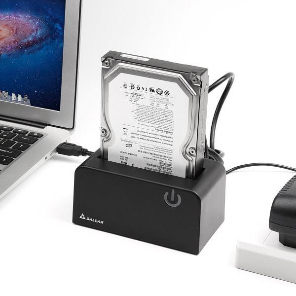 Salcar USB3.0 2.5/3.5型 SATA HDD/SDDスタンド 8TB UASP対応 ドライブケース ハードディスクケース 1年保証|sekey-online|06