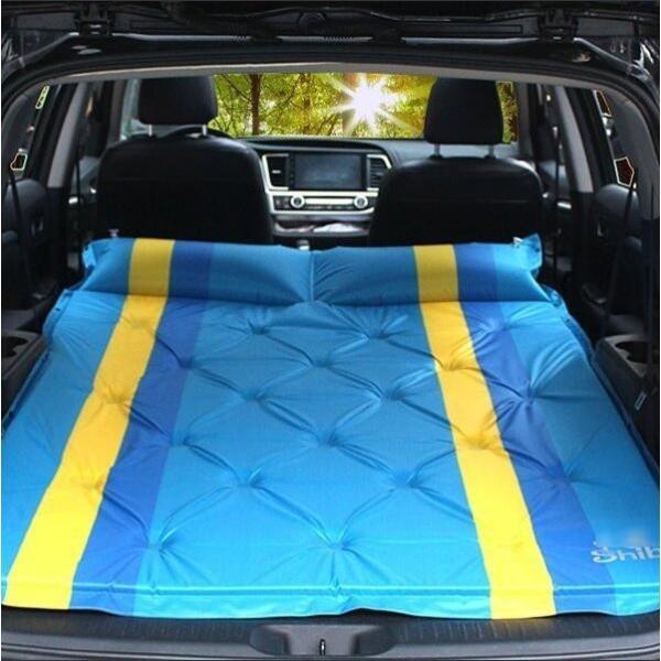 スペースクッション バブルマット 車中泊マット エア-ベッド カー用品 寝具 車中泊 長距離 渋滞 快適空間 仮眠  TD020|seki|02