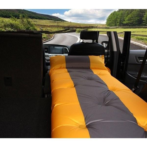 スペースクッション バブルマット 車中泊マット エア-ベッド カー用品 寝具 車中泊 長距離 渋滞 快適空間 仮眠  TD020|seki|03