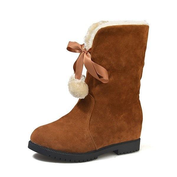 ムートンブーツ ショートブーツ 冬靴 シューズ キッズ 女の子 子供 裏起毛 暖か 厚手 保温 秋冬 裏ボア 防滑 可愛い