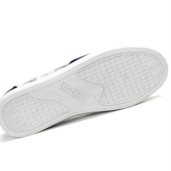 スニーカー スリッポン 靴 レディース キャンバス カジュアルシューズ ぺたんこ 厚底 ローカット 紐なし 楽ちん 疲れにくい|seki|10