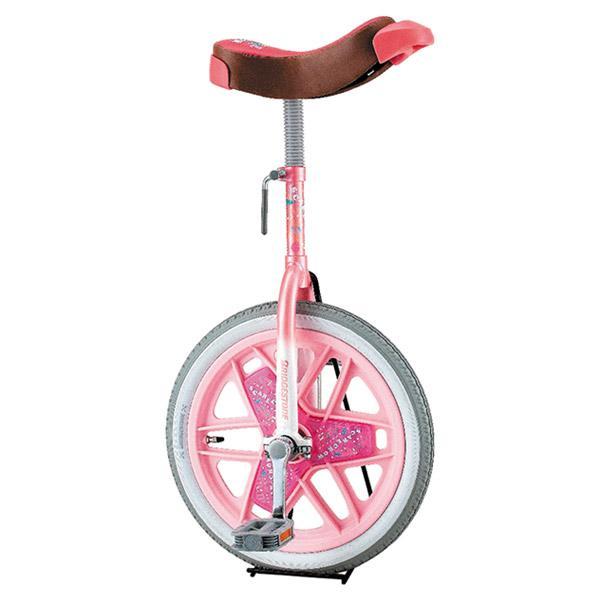 即日出荷 ブリヂストン 一輪車 16インチ スケアクロウ SCW16 ピンク