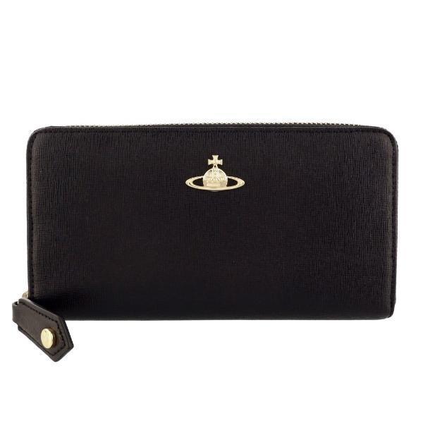 Vivienne Westwood ヴィヴィアンウエストウッド 長財布 レディース ブラック 51050001 SAFFIANO BLACK