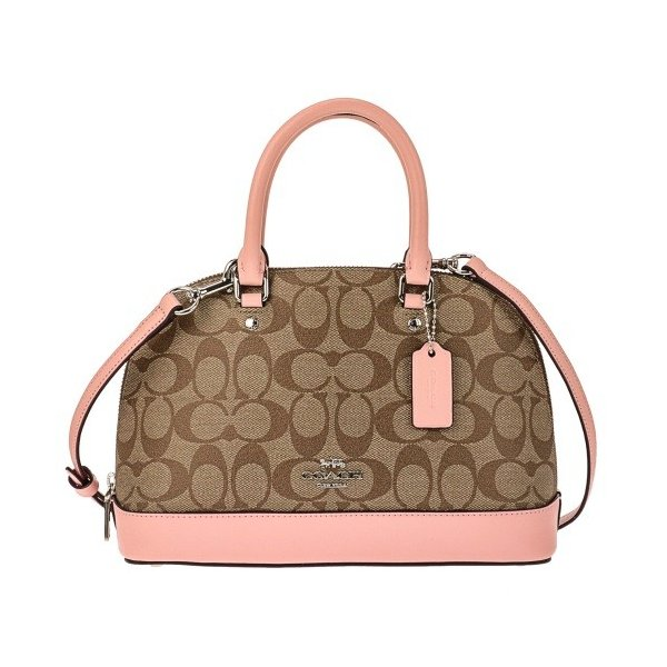 COACH OUTLET コーチ アウトレット ハンドバッグ レディース カーキ ピンク F27583 SVN3X