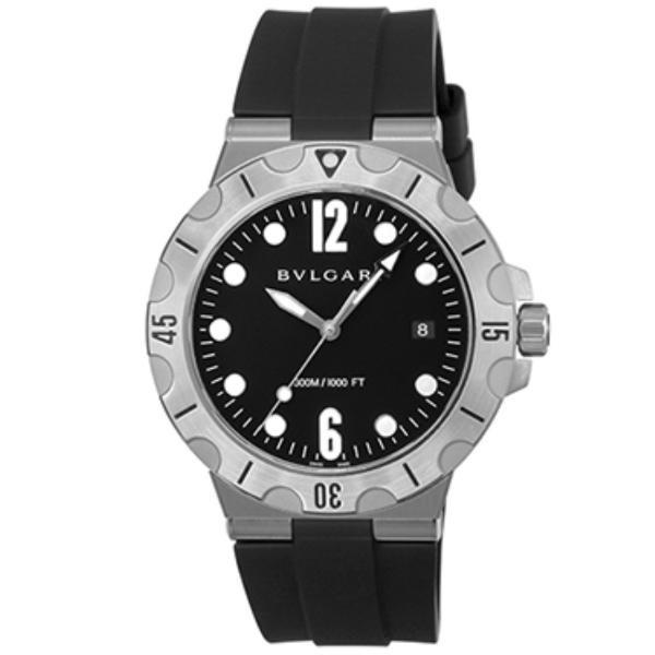 836348d2dcd2 BVLGARI ブルガリ 腕時計 メンズ ディアゴノプロフェッショナル ブラック DP41BSVSDの画像