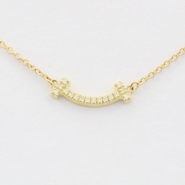 Tiffany&Co. ティファニー ネックレス レディース Tスマイルマイクロダイヤ 62617691