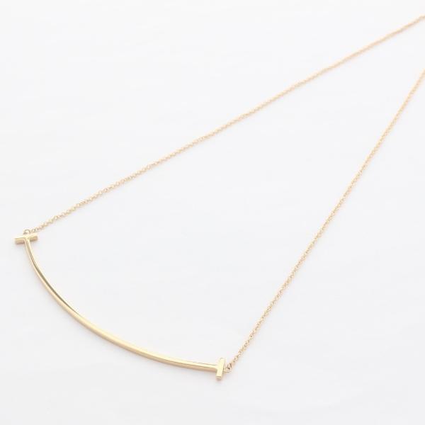 Tiffany&Co. ティファニー ネックレス レディース Tスマイル ラージ 33637152