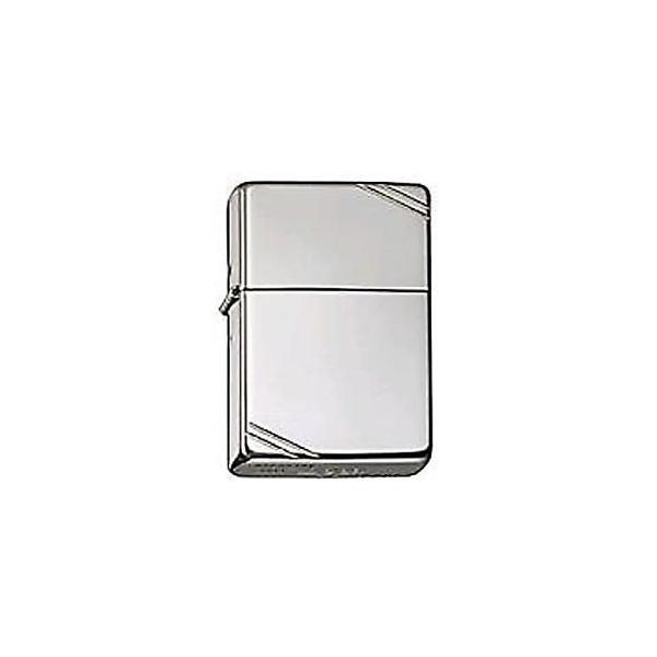 14 Zippo 銀無垢 艶ありフラットトップ ビンテージタイプ シルバー