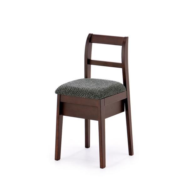 ドレッサー用椅子 ◆在庫限り◆ タイプE 収納付き 買い替え 4色 送料無料 正規取扱店 選べるファブリック