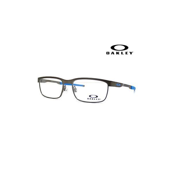 OAKLEY オークリー OY3002-0248 メガネフレーム STEEL PLATE XS ジュニア 子供用 スティールプレート 伊達メガネ サテンブラッシュド/クローム 正規商品