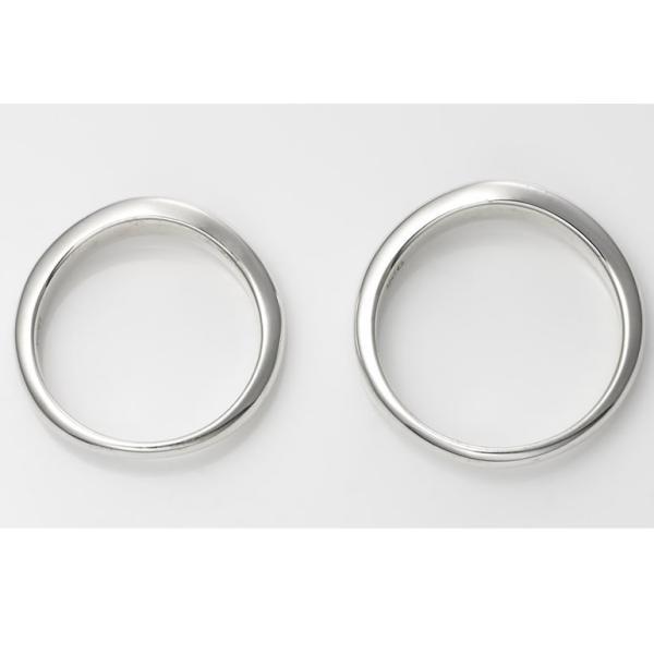 セミオーダーメイド ペアリング シルバー 刻印・送料無料 シンプル 誕生石/006R-KS(OP)|select-alei|03