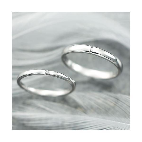結婚指輪 マリッジリング プラチナ ペアリング 2本セット 無料刻印 Premium memory (pre-11-22-4151)|select-alei