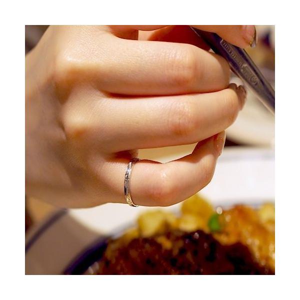 ハワイアンジュエリー ピンキーリング 指輪 シルバー925 AquaBelle ANELA AR925-PE レディース スクロール 波 彼氏 彼女 誕生日|select-alei|04