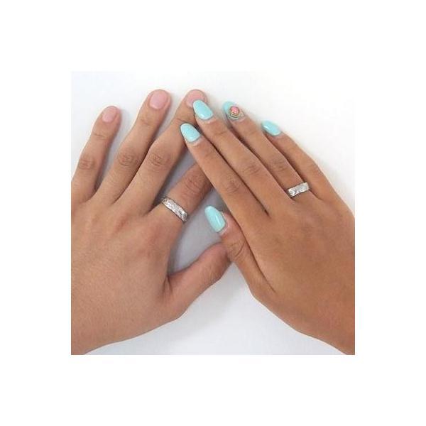 ハワイアンジュエリー ペアリング ステンレス milmil GRSS515 2本セット カップル ペアルック お揃い 結婚指輪|select-alei|05