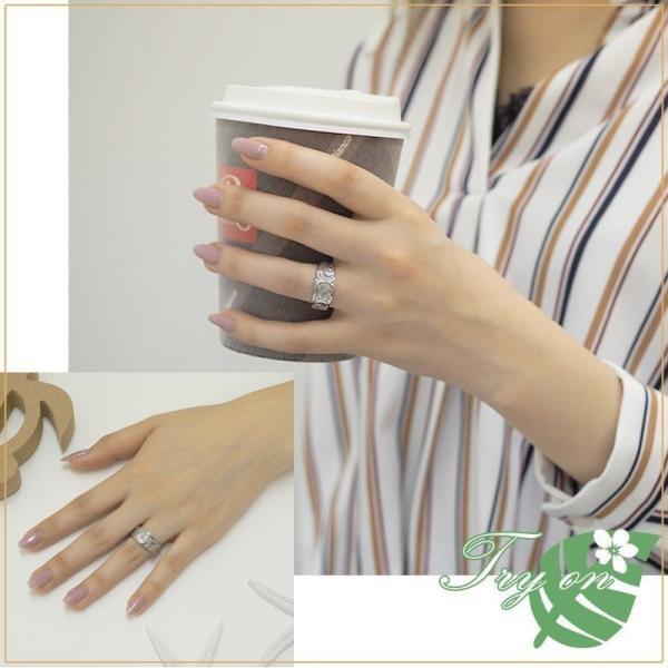ハワイアンジュエリー ペアリング ステンレス 2本セット カップル ペアルック お揃い 結婚指輪 milmil GRSS551|select-alei|05