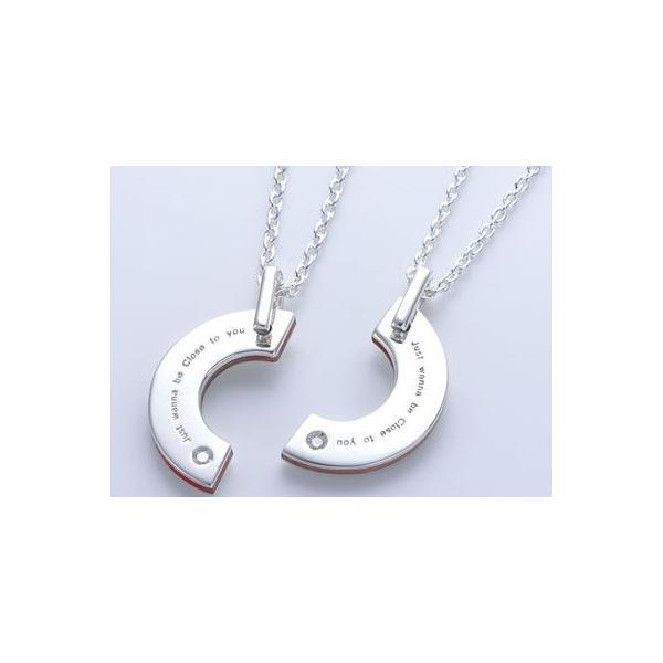 ペアネックレス カップル セット シルバー 人気 ブランド  LOVE of DESTINY 運命の愛 (lod-012)|select-alei|02