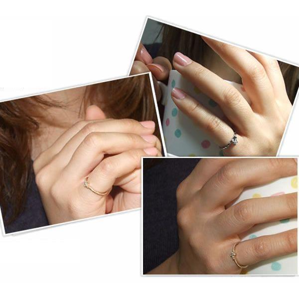 ピンキーリング ミディリング レディース ステンレス mole (mole-grss313) (単品)|select-alei|02