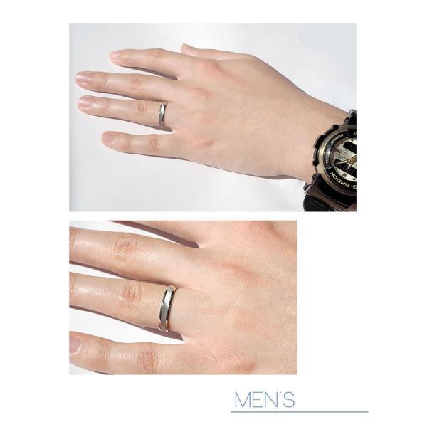 結婚指輪 マリッジリング プラチナ ペアリング 2本セット 無料刻印 PremiumDestiny (運命の糸) (mrih-p098)|select-alei|02