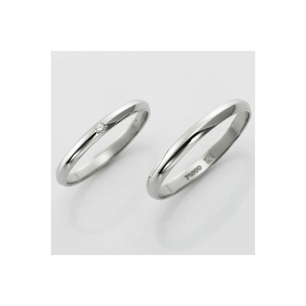結婚指輪 マリッジリング プラチナ 無料刻印 PremiumDestiny (運命の愛) (mrih-p354-p354d)|select-alei|03