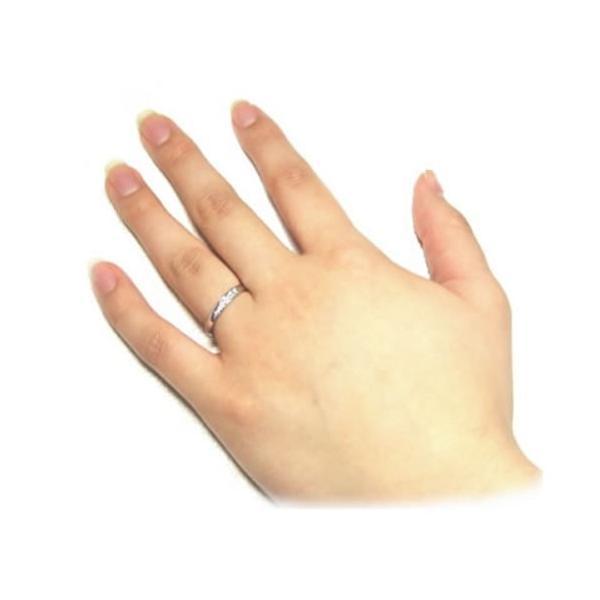 結婚指輪 マリッジリング プラチナ ペアリング 2本セット 無料刻印 Premium memory (pre-11-22-4071)|select-alei|03