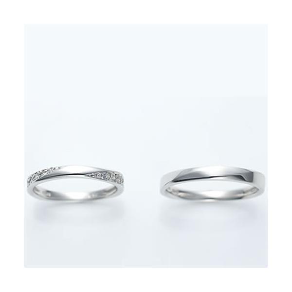 結婚指輪 マリッジリング プラチナ ペアリング 2本セット 無料刻印 Premium memory (pre-11-22-4071)|select-alei|04