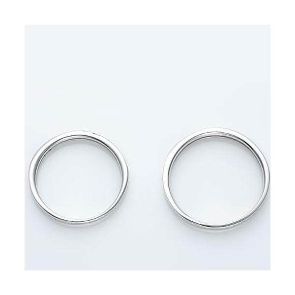 結婚指輪 マリッジリング プラチナ ペアリング 2本セット 無料刻印 Premium memory (pre-11-22-4071)|select-alei|05