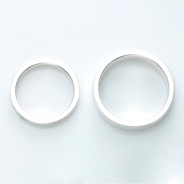 ペアリング 刻印 セット 人気 カップル シルバー セミオーダーメイド シンプル/007R-K(SU)|select-alei|04
