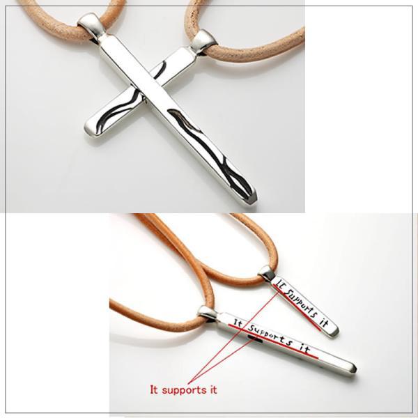 ペアネックレス シルバー FISS (Cross of sympathy L 〜思いやりのクロス L〜) (FISS-T040)|select-alei|02