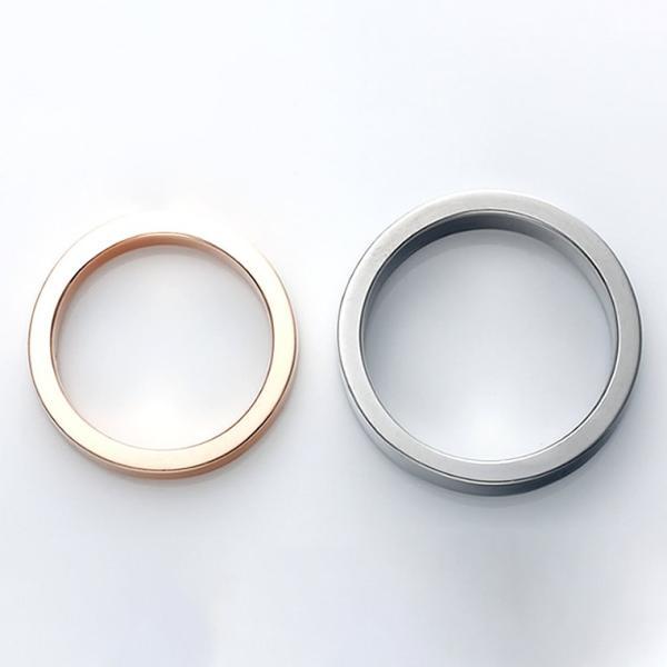 セミオーダーメイド ペアリング シルバー 刻印・送料無料 シンプル 誕生石/007R-KS-BKPK(OP)|select-alei|03
