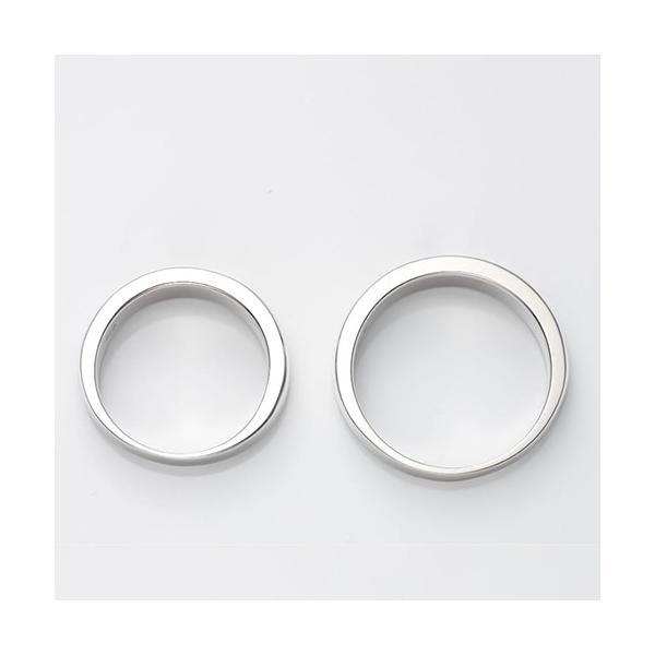 セミオーダーメイド ペアリング シルバー 刻印・送料無料 シンプル 誕生石/003R-KS(OP)|select-alei|04