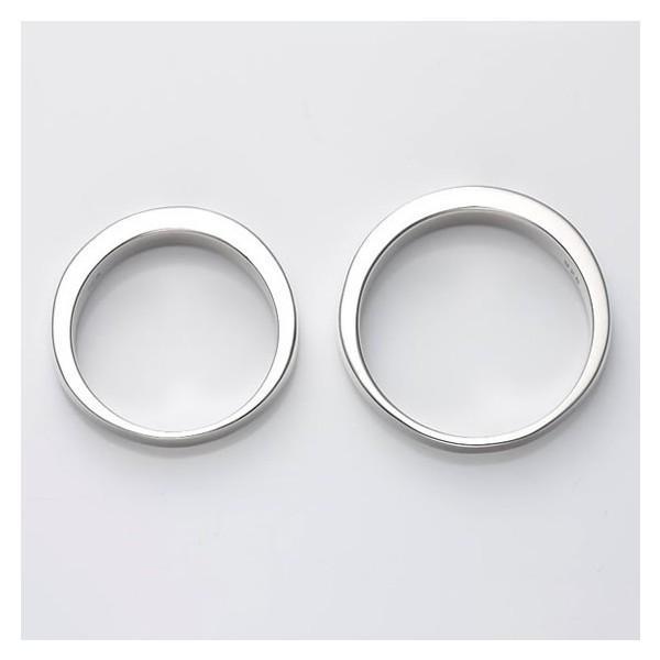セミオーダーメイド ペアリング シルバー 刻印・送料無料 シンプル 誕生石/005R-KS(OP)|select-alei|03