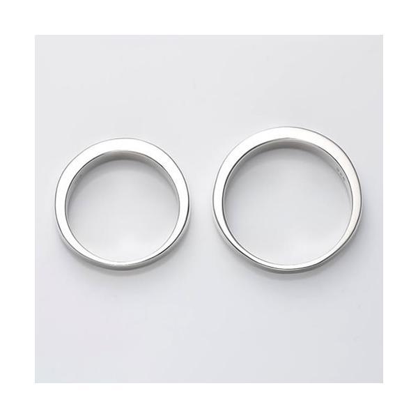 ペアリング 刻印 セット 人気 カップル シルバー セミオーダーメイド シンプル/005R-K(OP)|select-alei|03